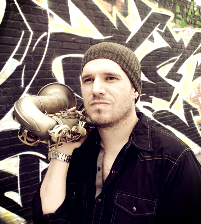 Saxophone Player Scott Paddock